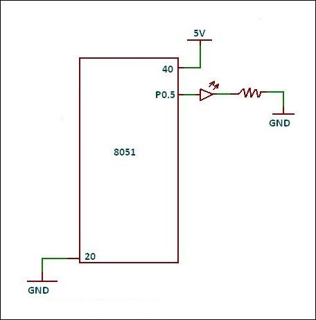 Learn 8051 - Download Interfacing Diagrams :: Projects of