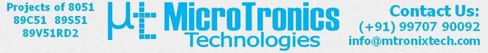 Microtronics Technologies - Projects of 8051
