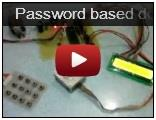 Password based door locking
