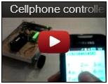 Landrover Robot Operated by Cellphone