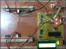 Automatic Room Light Controller & Visitor Counter