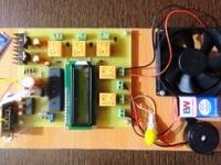 Voice operated home appliances control project report