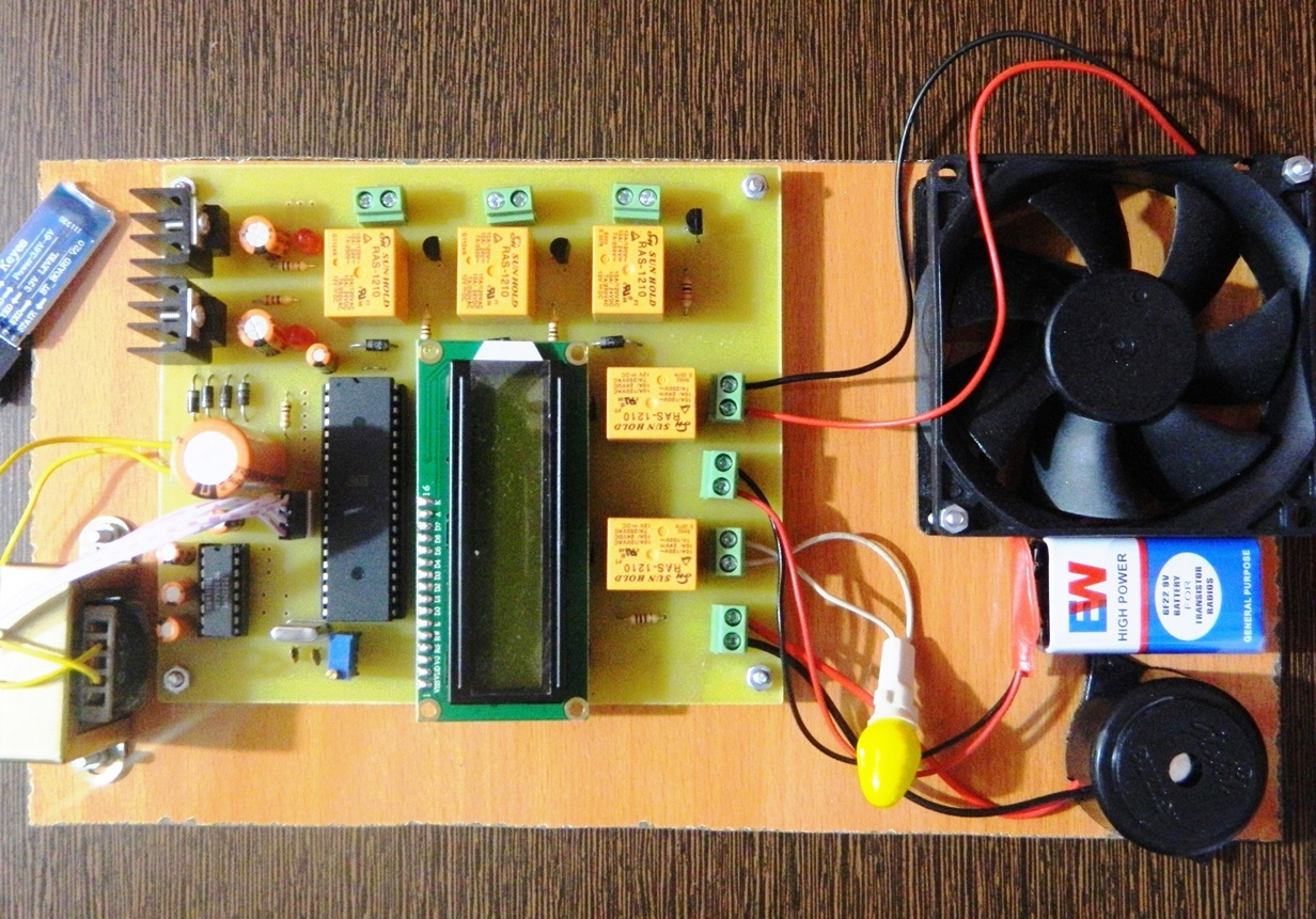 Speech controlled Home Appliance Control System