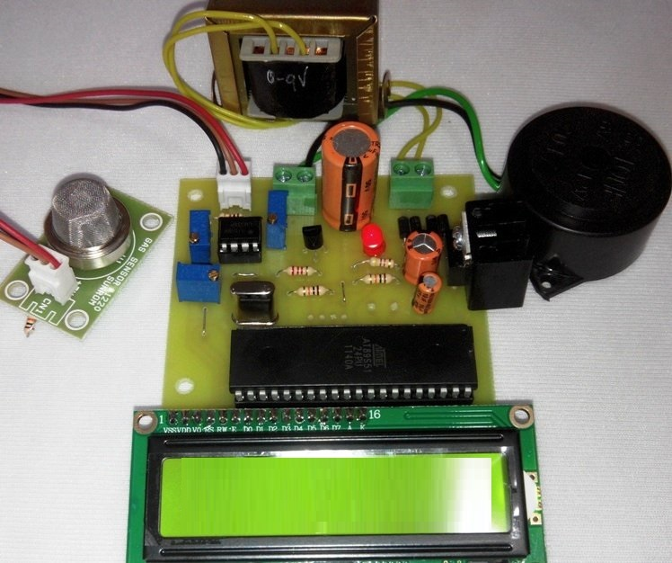 Low Cost Fire Detection and alarm System using 8051