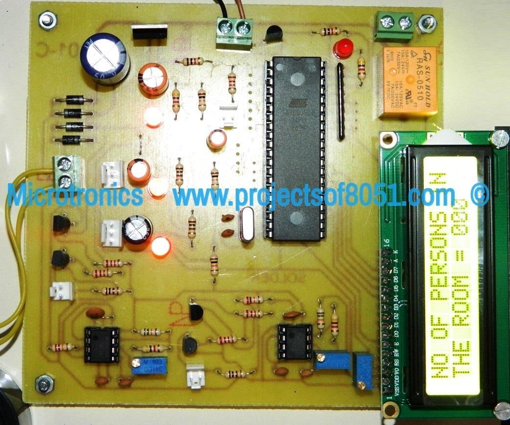 Automatic Room Light Controller Person Counter Microcontroller Detecting Open Circuit Very Low Power Electrical