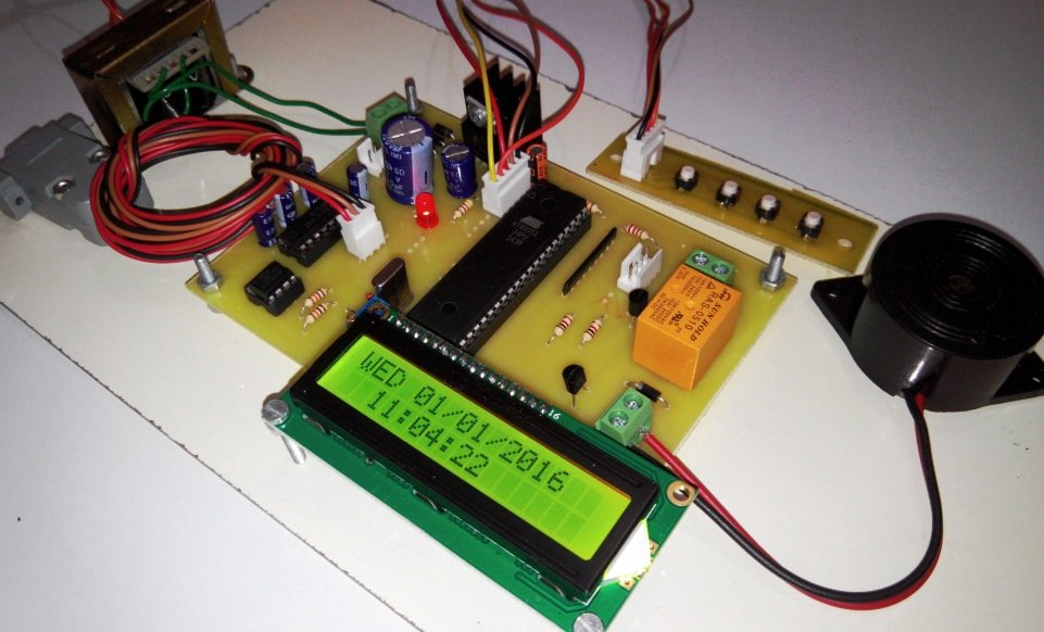 Automatic Bell For Colleges Project From Microtronics. Automatic College Bell. Wiring. School Bell Wire Diagram At Scoala.co