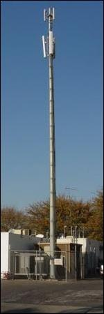 SMS based Cell Phone Tower Base Station Safety System