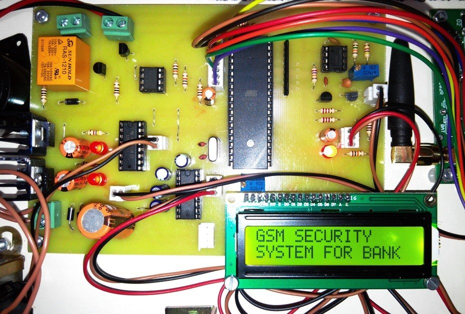 Sms Based Bank Locker Security System Using Gsm Modem