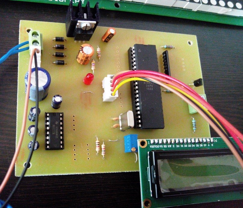 Digital Notice board controlled via SMS using GSM modem