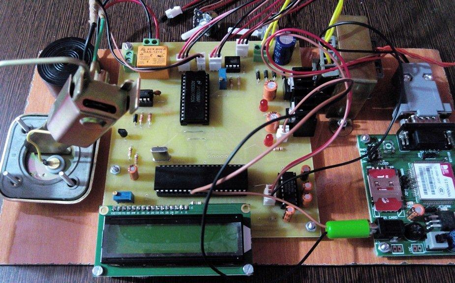 Power Transformer Parameter Fault Detection System Via Sms