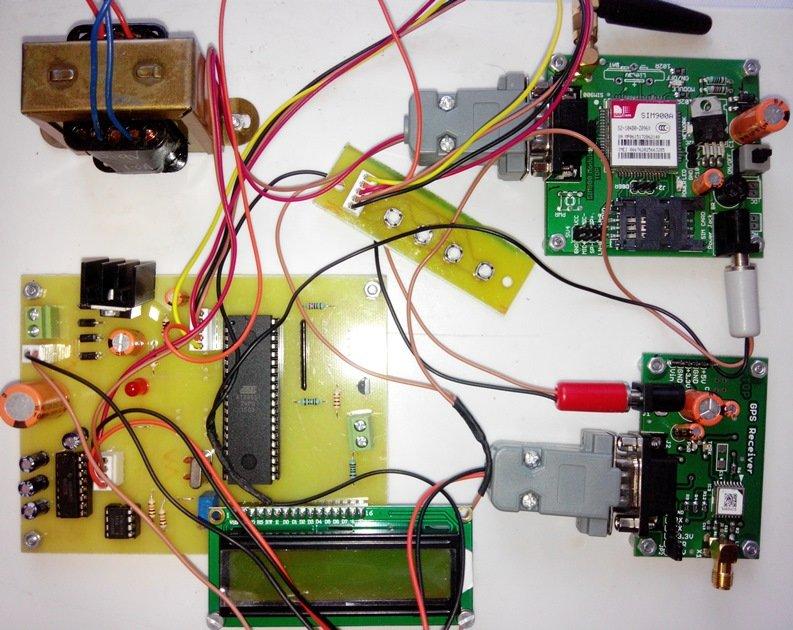 Google Map Vehicle Tracking System using GPS & GSM modem