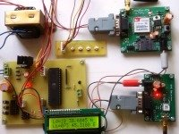 GPS and GSM based School bus tracking system