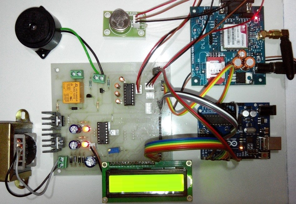 IOT based Fire Alerting System Project