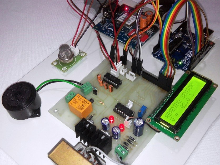 Arduino & SMS based LPG Leakage detector using GSM modem