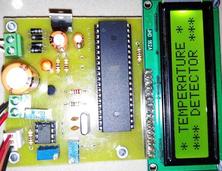 Microcontroller Based Overheat Detector Using Temperature