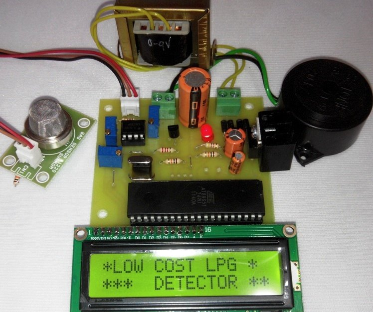 Low cost LPG leakage detector with buzzer indication using ...