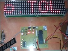 SMS based Electronic Notice board using GSM modem
