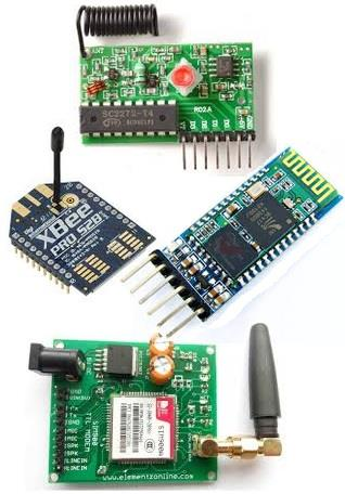 List of Wireless communication projects from Microtronics